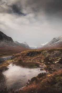 Frozen Mountains, Scotland / By Frederick Ardley Photography
