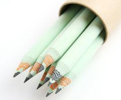 Eco-Friendly Recycled Paper Pencils