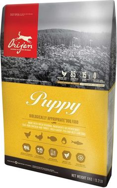 Orijen Puppy Food; Available in 3 sizes