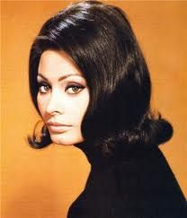 "Sophia Loren Italian actress became an international movie star throughout the sixties and seventies. She is noted as a fiery bombshell with her full lips and hourglass physique. Loren quote, ""Everything I have, I owe to spaghetti"""