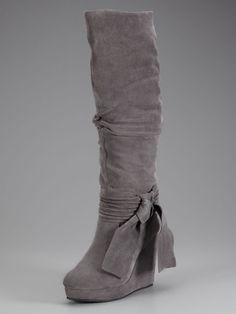 Erin Tie Wedge Boot. Added to fall 2014 Stayces collection