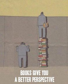 Book give you a better perspective.
