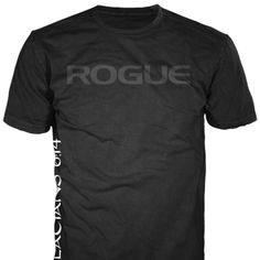 2011 CrossFit Games winner Rich Froning's signature shirt. Printed on American Apparel's 50/50 blend. Athletically cut. Only at Rogue Fitness.