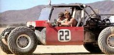 "Steve McQueen & Bud Ekins in ""The Baja Boot"""