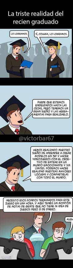 Je je je este es Pablo Antonio en su graduación, je je je