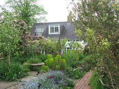 Garden at Monks House--Virginia Woolf
