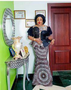 Let me introduce you to Her Honourable Hawtness, the president of Our Yard Association, my sweethear. African Fashion Ankara, African Inspired Fashion, Latest African Fashion Dresses, African Print Fashion, African Wear, African Attire, African Dresses For Kids, African Lace Dresses, African Blouses