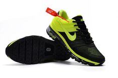 reputable site d1101 6aa0e Nike Air Max 2017 Men Fluorescent Green Black KPU Sports Footwear, Men's  Footwear, Cheap