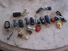 Car Keys, this will be my collection ahaha one day