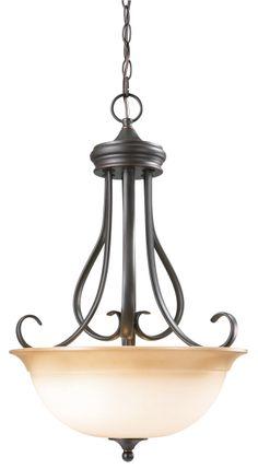 Design House 512681 Cameron Oil Rubbed Bronze Pendant