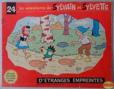 Livre BD ... Les aventures de SYLVAIN & SYLVETTE de 1970 !