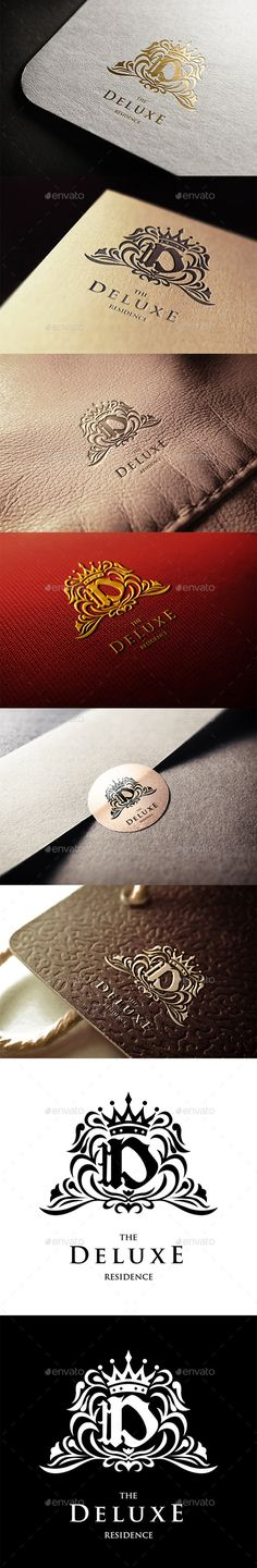 The Deluxe Plaza Hotels Logo Template #design #logotype Download: http://graphicriver.net/item/the-deluxe-plaza-hotels/11281689?ref=ksioks