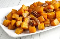 Oven Roasted Squash, Oven Roasted Butternut Squash, Side Dishes Easy, Vegetable Side Dishes, Sweet Potato Wedges Oven, Easy Potato Salad, Roasted Pecans, Creamy Mashed Potatoes, Roast Pumpkin