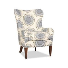 Sam Moore Nikko Wingback Chair Finish: Palisade Dark, Upholstery: 2159 Cranberry #ChairUpholstery