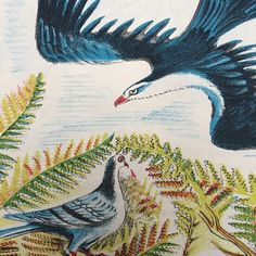 """Illustration by Enid Marx. Taken from her 1943 classic """"The Pigeon Ace"""" (via Design for Today)"""
