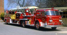 1965 American LaFrance ladder truck