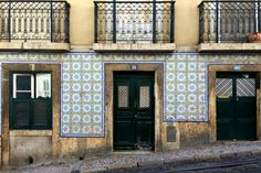Lissabon - Kachelhaus