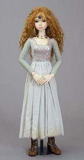 Celtic Warrior Maiden Doll
