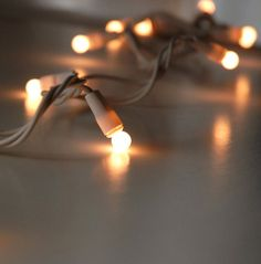 White 50 Pearlized  8mm Globe String Lights  White wire 17.5 ft  $6.99 each / 3 for $6 each