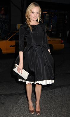 Diane Kruger in Jason Wu - at the Green Auction: Bid To Save The Earth event at Christie's in New York City.