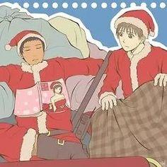 Aomine and Sakurai - Xmas
