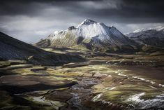 Follow my other boards for more great photos and stuff. | Stora Graenafjall by Xavier Jamonet / 500px Iceland