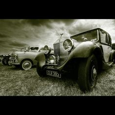 A love of old cars - HDR - Duotone
