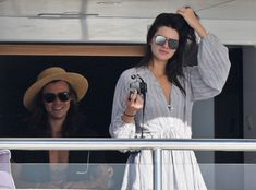 Harry Styles & Kendall Jenner from The Big Picture: Today's Hot Pics  The rumored love birds enjoy a vacation together on a yachtin St. Barts.