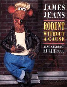 Muppet Parodies 1998 Calendar - Rodent Without a Cause