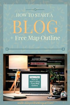 How to start a blog - get an overview of the whole blog process from start to finish. A handy pdf of the post can be downloaded for easy reference too.