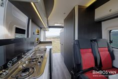 Fiat Ducato Custom Camper by Bimbos Van . A Custom Van Conversion adapted to our customer needs, with 4 seats traveling and sleeping. Ducato Camper, Fiat Ducato, Van Conversion Interior, Camper Conversion, Motorhome, Custom Campers, Complete Bathrooms, Camper Makeover, Campers