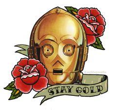 Star Whores: Star Wars Tattoos: C3PO