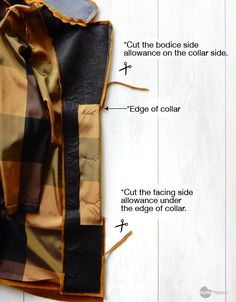 How to Sew Hidden Button Stand for Bamboo coat Waffle Patterns Sewing Patterns