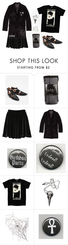 """""""How I Would Style: Jeffery Cambell Deetz Shoes"""" by void-witch ❤ liked on Polyvore featuring Jeffrey Campbell, Nicole Miller, Evil Twin, Surface To Air, Pamela Love, UNCONDITIONAL and COS"""