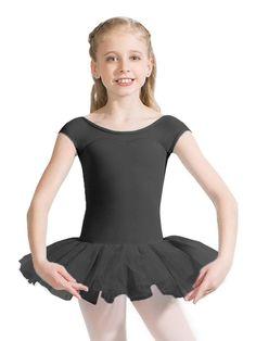 Capezio Little and Big Girls Keyhole Back Tutu Dress - Black Ballet Tutu, Jo And Jax, Girls Dancewear, Dance Fashion, Review Dresses, Dance Wear, Leotards, Ideias Fashion, Girls Dresses