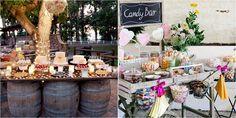 42 Ideas de candy bar para una boda