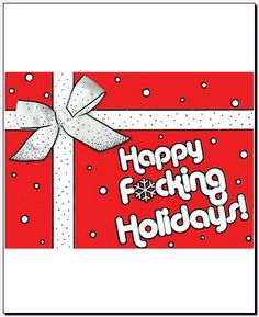 Happy Fucking Holidays Boxed Candy