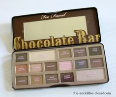 See what I think of the @Sarah Long Faced Cosmetics  Chocolate Bar Palette http://www.the-socialites-closet.com/2014/06/faced-chocolate-bar-review.html