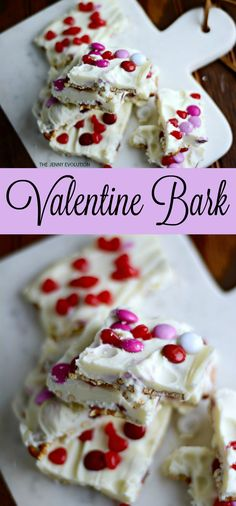 Valentine Bark Recipe. With the added saltiness of pretzels and the kick of red hots, you won't be able to resist!