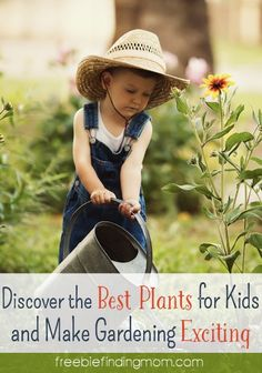 Discover the Best Plants for Kids and Make Gardening Exciting - Encourage your little helpers to embrace gardening. Here are tips to help along with some of the best plants for kids to grow.