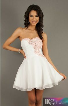 Homecoming Dress in a pale pink or in black this would be awesome