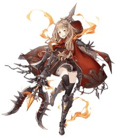 View an image titled 'Red Riding Hood, Paladin Job Art' in our SINoALICE art gallery featuring official character designs, concept art, and promo pictures. Female Character Design, Character Design References, Character Design Inspiration, Character Concept, Character Art, Concept Art, Fantasy Characters, Anime Characters, Tekken Cosplay