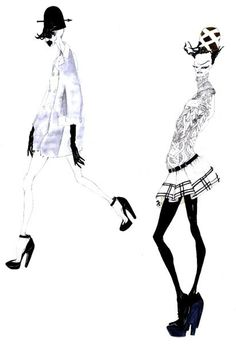 #BALENCIAGA #illustration #fashion