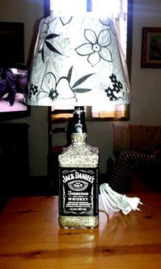 Lampada Jack Daniel's 150cl by Santino Cossu
