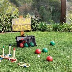Avon Living Outdoor Bocce Ball Set