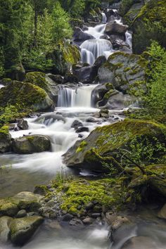 The Creek by jasonwilde on DeviantArt Scenery Pictures, Nature Pictures, Cool Pictures, Cool Landscapes, Beautiful Landscapes, Beautiful Places To Visit, Beautiful World, Beautiful Waterfalls, Fantasy Landscape
