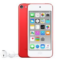 cool Apple iPod Touch 128GB 6th Generation - (Product) RED