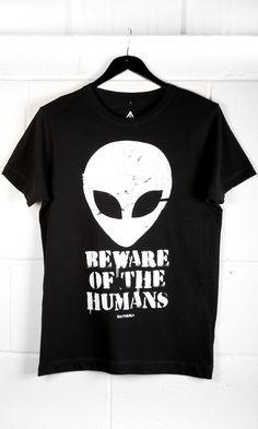 Beware T-Shirt #disturbiaclothing disturbia metal alien goth occult grunge alternative punk
