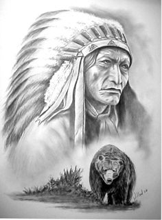 Chief High Bear by willow1