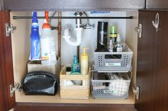 5 Tips for Organizing Your Undersink Storage - Home Improvement Projects, Tips & Guides